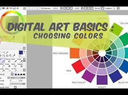 Digital Art Basics : Choosing a color palette Part 1