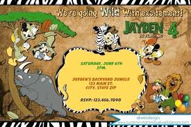 Free Printable Safari Birthday Invitations Jungle Animal Invitations Jungle Safari Invitations For Boys Safari