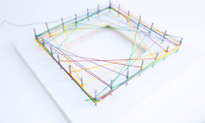 Geometric String Art Patterns Impressive Math Art Idea Explore Geometry Through String Art Babble Dabble Do