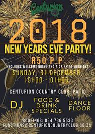 new year s eve party at centurion country club on sunday december 31st
