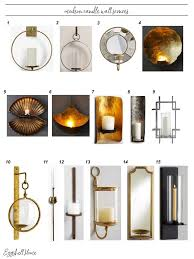 eggshell home best modern candle wall sconces round up see them all on the blog