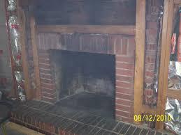 soda blasting a brick fireplace green clean mobile soda blasting for how to clean a fireplace