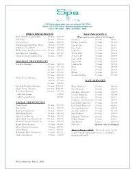 Salon Price Menu Template New 9 List Templates Nail – Shopsapphire