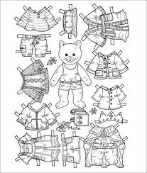 Small Picture Paper Dolls Free Premium Templates