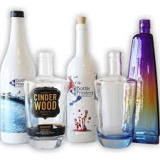 one of a kind in bottle printing