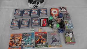 Bakugan lot of 14 pyrus dragonoid tigrerra ingram bakupearl rare + 14 cards. Total 665 Cards Pokemon Foot Bakugan Figurines True Catawiki