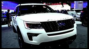 2018 ford explorer.  2018 2018 ford explorer sport  exterior and interior inside ford explorer