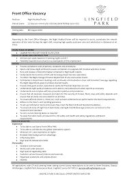 Hotel Front Desk Resume Sample front desk agent resume sample Selolinkco 20
