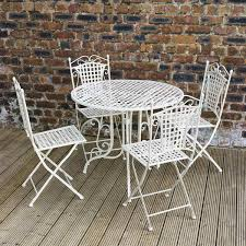 white metal outdoor furniture. white round contemporary metal patio furniture stained ideas for home depot outdoor e