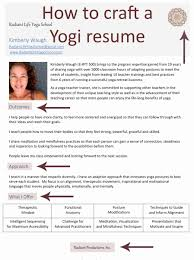 Yoga Teacher Resume Sample Unique Jenniferkries Press