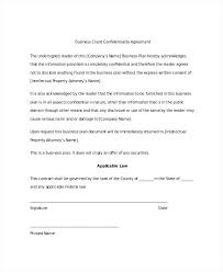 Non Disclosure Agreement Templates Company Documents Lea S Sound ...