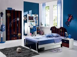 Cool Room Designs Bedroom Magnificent Cool Room Design Idea With Blue Soft Loft Bed