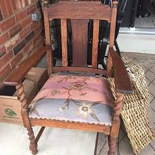 craftsman style furniture. Yard Sale Project Piece Antique Arm Chair - Question Craftsman Style Furniture I