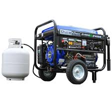 Duromax 4 400 Watt Hybrid Dual Fuel Propane Gas Powered Electric