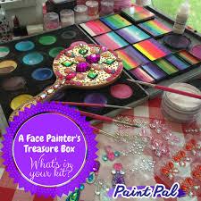 a face painter s treasure box
