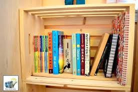 kids room wallpaper paint ideas design for two four easy wood crate projects stunning bookshelf mom home guide a few wooden crates ed together make
