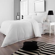 the waffle quilt cover set brings the clean crisp feel and look of luxury with its pure white cotton finish and waffled texture