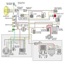 xs chopper wiring diagram wiring diagrams 650 rider xs650 motorcycle systems electrical yamaha xs650 bobber wiring diagram