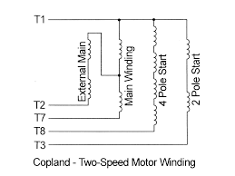 hvac air conditing heat pumps lightning claims schematic of two speed compressor motor