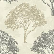 Sophie Conran Alderwood Duck Egg Trees Wallpaper - B&Q for all your home  and garden supplies and advice on all the latest DIY trends