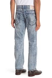 True Religion Plus Size Chart True Religion Straight Acid Wash Jeans Nordstrom Rack