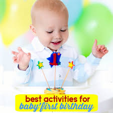 Child Birthday The Best Party Games For Babys First Birthday Mommys Bundle