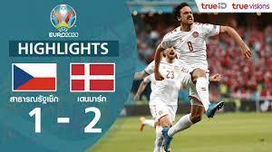 ไฮไลท์ฟุตบอล ยูโร 2020 รอบก่อนรองชนะเลิศ สาธารณรัฐเช็ก พบ เดนมาร์ก -  EUCUP.COM