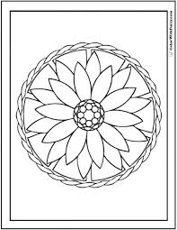 Small Picture Geometric Coloring Pages Printable Printable Geometric Coloring