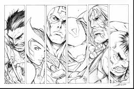 Small Picture remarkable avengers coloring page alphabrainsznet