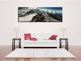 Tableau panoramique du Mont blanc à prix réduit sur Hexoa.fr