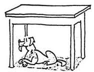 table clipart black and white. dog under the table clipart black and white r