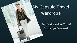 Outfit Creator With Your Own Clothes My Travel Capsule Wardrobe Best Wrinkle Free Travel Clothes