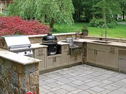 Luxury Outdoor Kitchen Stainless Steel Cabinet Doors | EVA Furniture