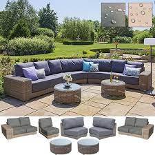 kingston curved modular sofa set f