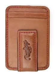 rawlingsbaseball stitch money clip wallet