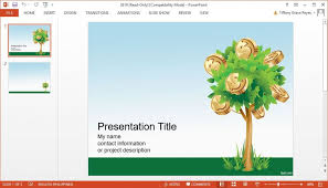 Free Money Templates Inspiration A Secret To Awesome Presentations Using Free PowerPoint Templates