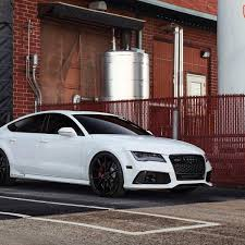 audi a7 blacked out. cool audi 2017 rs7 white vossen vfs1 black procarmods a7 check more at httpcarsboardpro201720170301audi2017audirs7whiteu2026 blacked out c