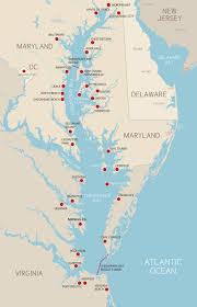 chesapeake bay map  the bb team