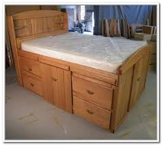 full size storage bed plans. Diy Full Size Bed Frame With Storage Home Design Ideas Regard To Frames 18 Plans T