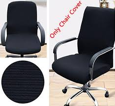 office chair fabric cover. amazoncom trycooling modern simplism style chair covers cotton office computer stretchable rotating cover small green kitchen u0026 dining fabric e