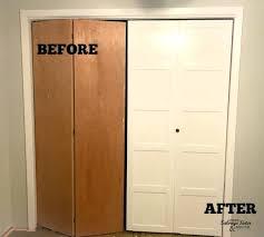 closet door styles updating bi fold closet doors salvage sister and mister with regard to closet closet door