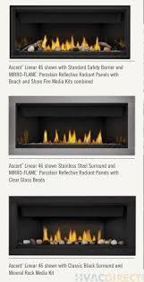 napoleon gas direct vent fireplace ascent 46