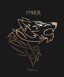 Borboranoir Fenrir Sigil Hes The Son Of The God Loki And The