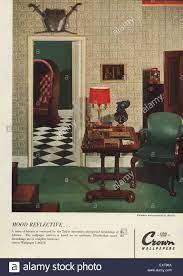 1950s UK Crown Magazine Advert Stock ...