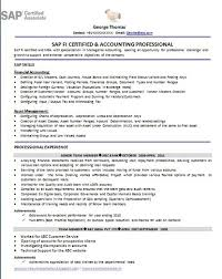 Sap sd core user resume sap mm resume sap fico consultant resume the most  sap end