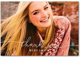 College Grad Thank You Card Cards For Your Clients