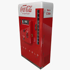 Vintage Coca Cola Vending Machines Custom Vintage Coke Machine On Behance