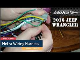 removing wires from a metra harness removing wires from a metra harness