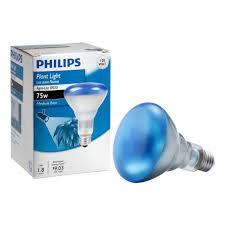 philips 75 watt br30 incandescent agro plant grow flood light bulb
