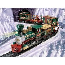 Battery Operated North Pole Christmas Train Set - Ricoda Ltd. - Toys